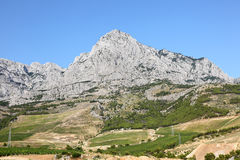 Biokovo mountains, Croatia Royalty Free Stock Photo