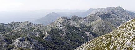 Biokovo panorama Fotografering för Bildbyråer