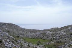 Biokovo widok górski Fotografia Stock