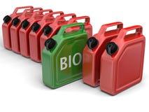 Biokraftstoff lizenzfreie abbildung