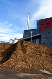 BiokraftstoffTriebwerkanlage Stockbilder