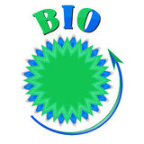 Biokreisgegenstand Stockbild