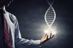 Biologi, vetenskap och läkarundersökningteknologibegrepp royaltyfria bilder