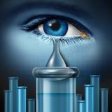 Biologia da depressão Imagem de Stock Royalty Free