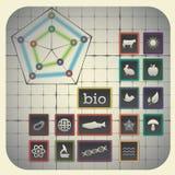 Biologia symbole Zdjęcia Royalty Free