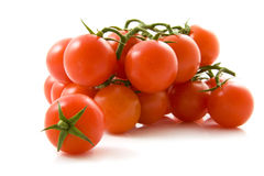Biologic tomatoes royalty free stock image