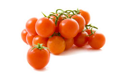 Biologic tomatoes Royalty Free Stock Images