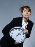 Biological clock concept Royalty Free Stock Image