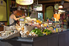 Biological grocery in Valencia - Spain Royalty Free Stock Photography