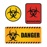 Biological hazards sign Royalty Free Stock Photo