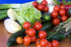 Biological Vegetables. Food & Drinks - mix of colorful vegetables. Horizontal pose Stock Image