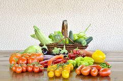 Biological vegetables Stock Image