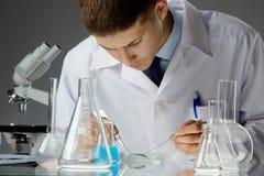 Biologiczna próbka Obrazy Stock