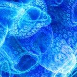Biologiczny życie Komórki mikroorganizmy royalty ilustracja