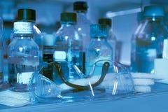 Biologie-Laborsicherheit stockfoto