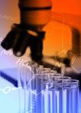 Biologie- oder Chemieforschung Lizenzfreies Stockfoto