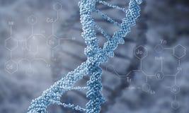 Biologie, wetenschap en medisch technologieconcept stock foto