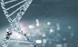 Biologie, wetenschap en medisch technologieconcept stock foto's