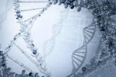 Biologie, wetenschap en medisch technologieconcept stock afbeeldingen