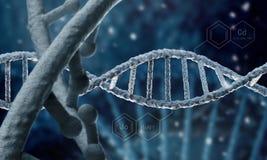 Biologie, wetenschap en medisch technologieconcept royalty-vrije stock afbeeldingen