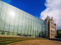 Biologiemuseum in Londen (hdr) stock fotografie