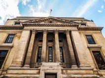 Biologiemuseum in Londen (hdr) royalty-vrije stock foto