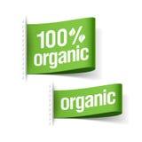 100% biologisch product Royalty-vrije Stock Afbeelding