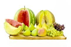 Biologische Früchte Stockfoto