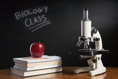 Biology class concept Royalty Free Stock Images