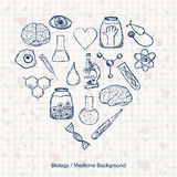 Biology or Medicine Science Background Stock Images