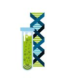 Biology science design. Illustration eps10 graphic Stock Photo