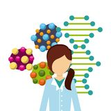 Biology science design. Illustration eps10 graphic Stock Image