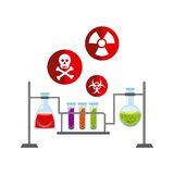Biology science design. Illustration eps10 graphic Royalty Free Stock Image