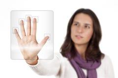 Biométrica Imagenes de archivo