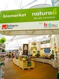 Biomarket - Expo 2015 - Milan Stock Photo