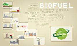 03 biomass Zdjęcia Royalty Free