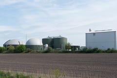 Biomass energy plant Royalty Free Stock Image