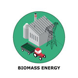 Biomass Energy, Renewable Energy Sources - Part 5 Stock Photography