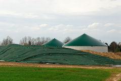 Biomass storage Stock Photos