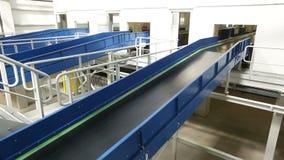Biomass waste plant conveyer stock video