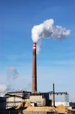 Biomasseverbrennung lizenzfreie stockbilder