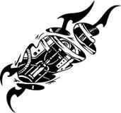 Biomechanical Designs - vector illustration Royalty Free Stock Photography