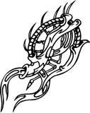 Biomechanical Designs - vector illustration Royalty Free Stock Photos