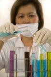 biomedical forskning arkivfoton