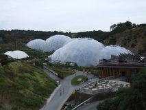 Biomes at Eden project Stock Photography