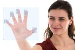 Biometria Fotografia de Stock Royalty Free