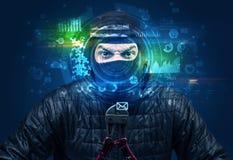 Biometric ID och ansiktsbehandlingerkännande fotografering för bildbyråer