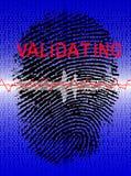 Biometric Scanner Stock Image