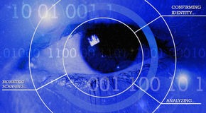 Biometric Scanning Stock Photography