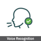 Biometric Scanning - Voice Recognition Stock Images